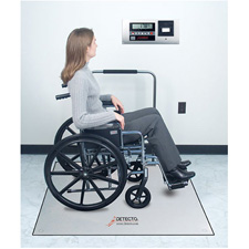 In Floor Bariatric Stand On Scales