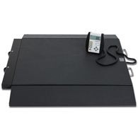Detecto 6400 Portable Bariatric Wheelchair Scale-1000 lb Capacity