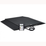 Detecto 6600 Portable Bariatric Wheelchair Scale-1000 lb Capacity