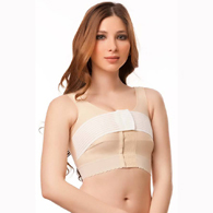 "Isavela BR03 Support Bra w/ 2"" Elastic Band & Stabilizer Band"